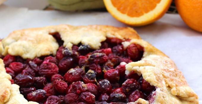 Cranberry Orange Ginger Galette: Classic Style