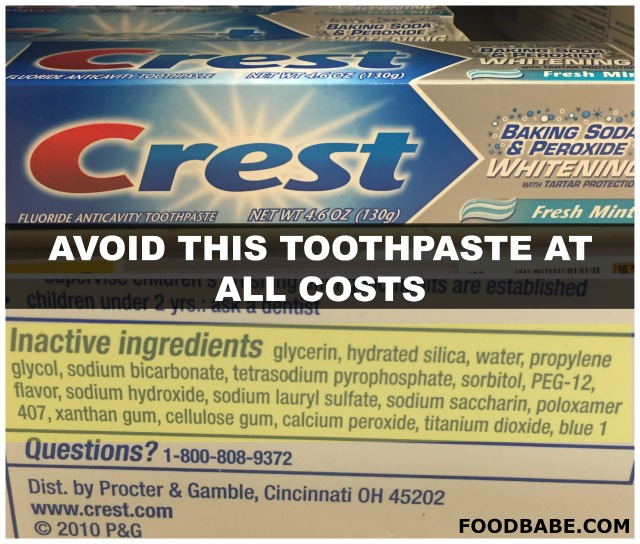 Is Your Toothpaste Full Of Carcinogens? Check this list