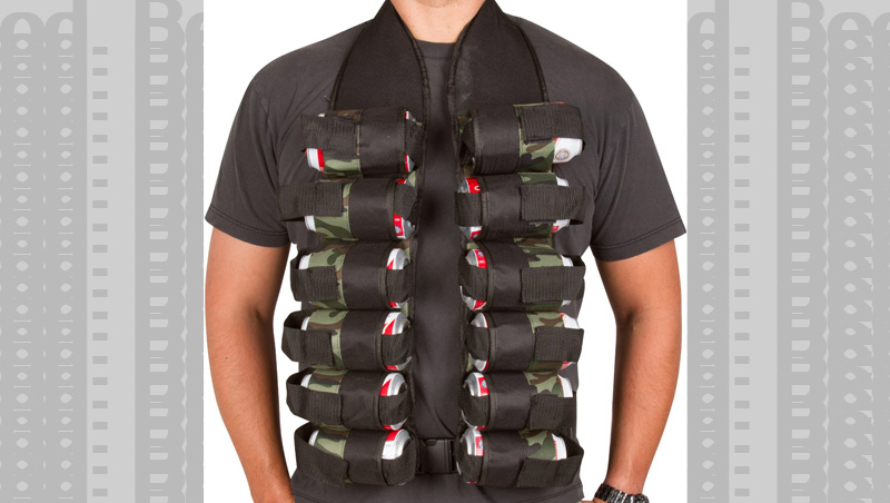 The 6 pack belt is a great start but the 12 pack bandolier will get you to the finish line.