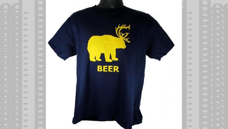 Part Bear, Part Deer, All Beer Tshirt.