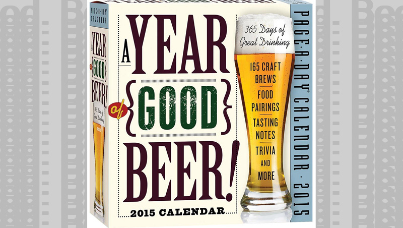Help your beer drinker remember what day it is and teach them something. win-win.