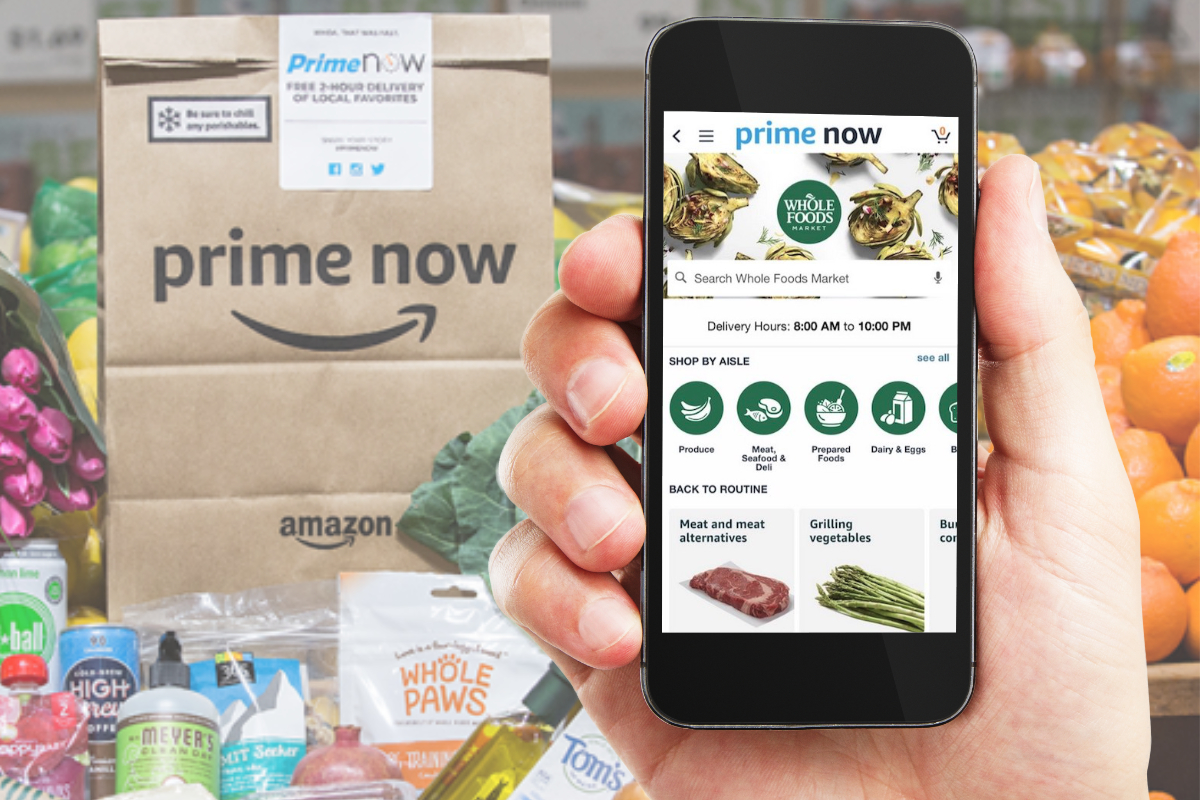 Amazon Whole Foods Prime Now App Boosts Whole Foods Sales 2019 02 04 Food