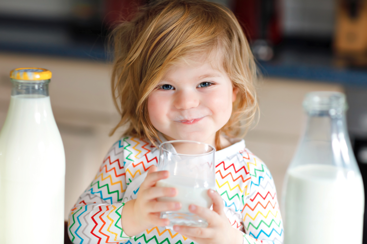 Infant Baby Not Drinking Milk Children Up To Age 5 Should Drink Milk Water And 100 Juice