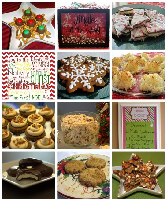 Christmas Collage Round Up