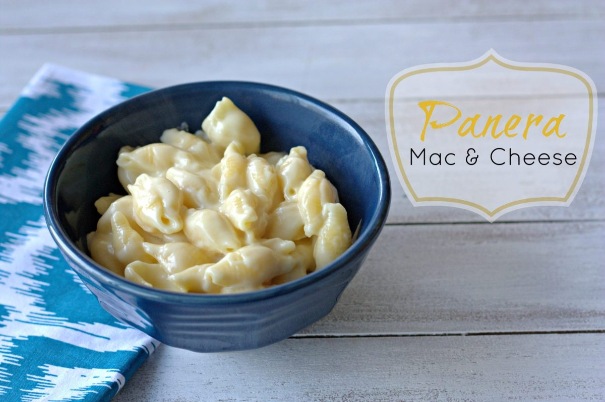 Panera's Mac & Cheese Recipe