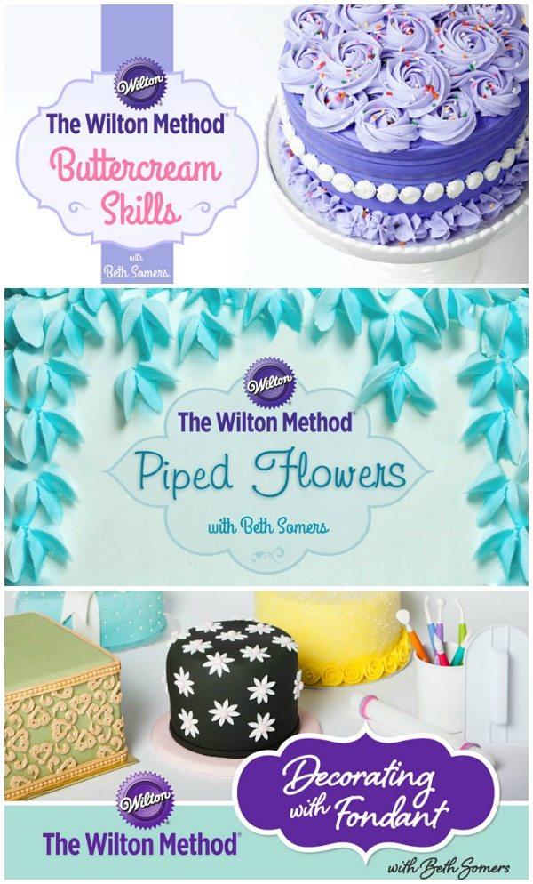 Wilton Cake Classes Hemet Ca : Wilton On-Line Cake Decorating Class & Kit GIVEAWAY ...