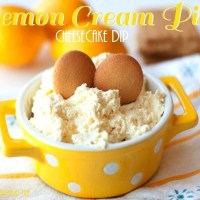 Lemon Cream Pie Cheesecake Dip