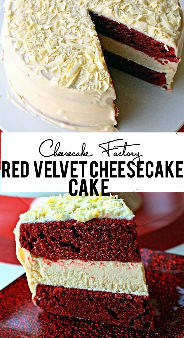 Cheesecake Factory Red Velvet Cheesecake Cake Recipe & Giveaway!