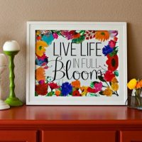 Live Life in Full Bloom - FREE Spring Printable