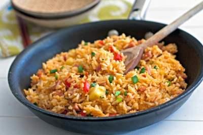 Hawaiian Fried Rice – a Leftover Ham Recipe • Food, Folks and Fun