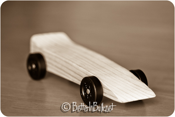 How To Make A Fast Wooden Race Car