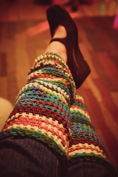 crazy leg warmers