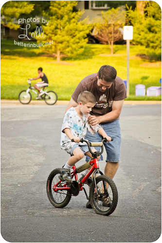 Learning to Ride a Bike – Wordless Wednesday