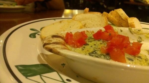 Olive Garden -artichoke-dip