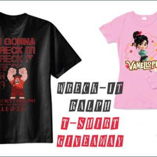 Wreck-It Ralph Coloring Pages and T-Shirt Giveaway