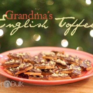 English Toffee – Grandma's Recipe