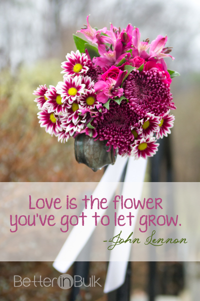 love is the flower