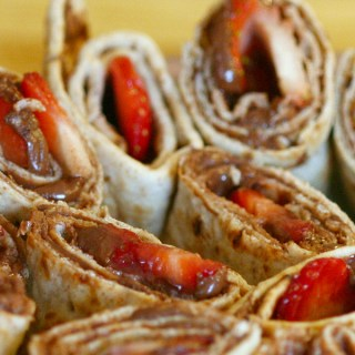 World Nutella Day with Banana Nutella Blondies and Strawberry Nutella Wraps