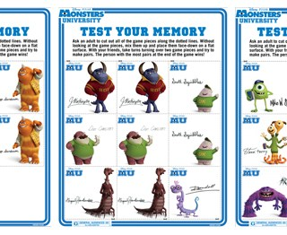 Monsters University Printables {Free Activity Sheets} #MonstersUEvent