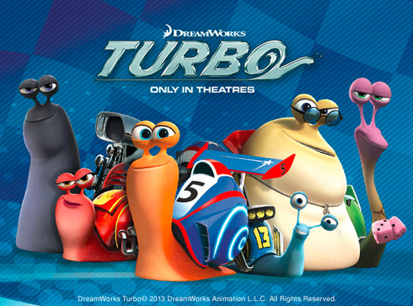 Turbo movie poster Dreamworks