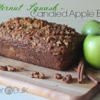 Butternut Squash Candied Apple Bread
