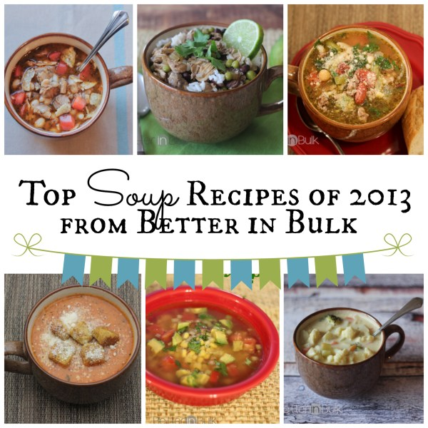 top soup recipes 2013