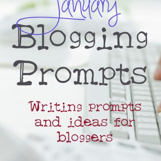 January Blogging Prompts