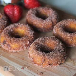 Pumpkin Strawberry Doughnuts Recipe