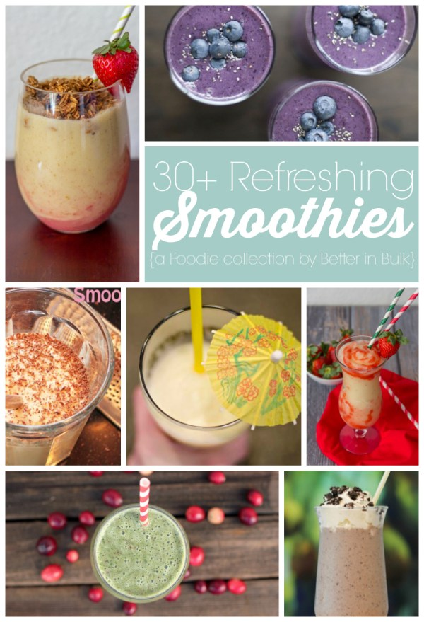 30 smoothie recipes