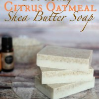 Soothing Oatmeal Citrus Shea Butter Soap