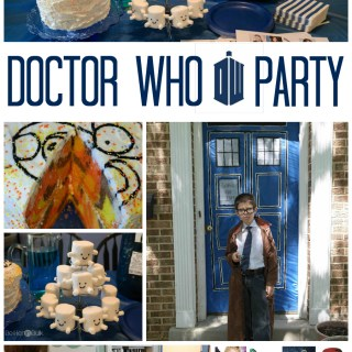 How To Throw An Epic Doctor Who Party for Kids