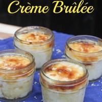 Rice Pudding Crème Brûlée {5 Minute Dessert}