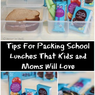 Tips For Packing School Lunches That Kids and Moms Will Love
