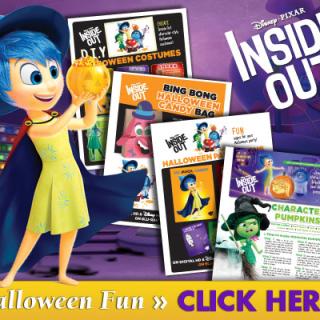 Inside Out Halloween Fun Activities