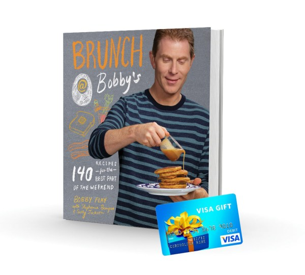 Bobby Flay's Brunch @ Bobby's cookbook giveaway