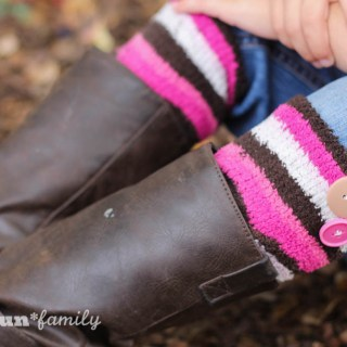 No-Sew Boot Cuffs – An Easy Homemade Gift idea