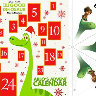 The Good Dinosaur Advent Calendar & More