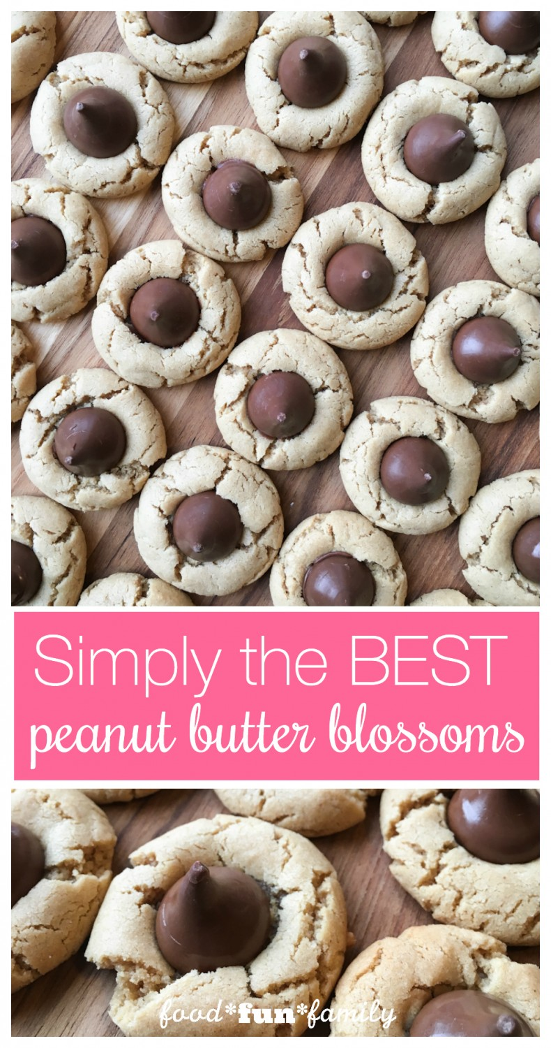 Simply the best peanut butter blossoms cookies recipe ever. These classic cookies turn out perfect every time!