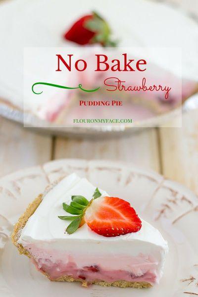 No-Bake-Strawberry-Pudding-Pie-flouronmyface