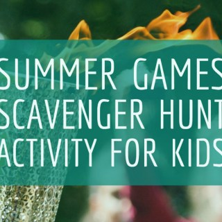 Summer Games Scavenger Hunt Activities for Kids