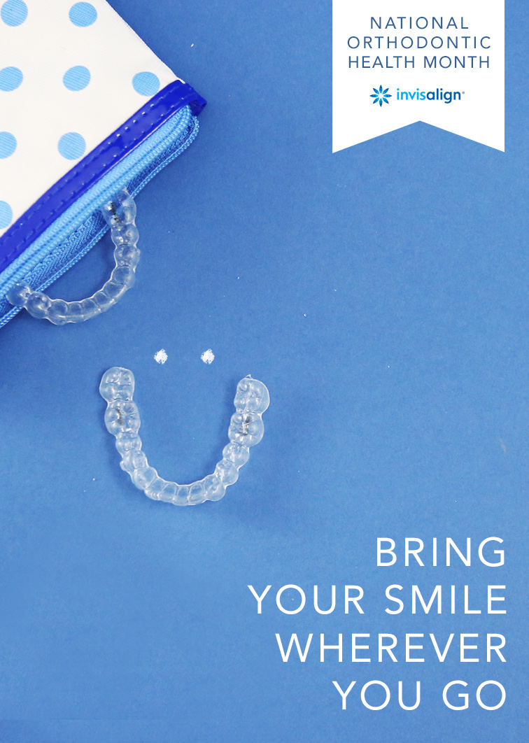 Bring your smile wherever you go!