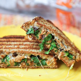 Sun Dried Tomato Tuna Panini #HarvestBlends