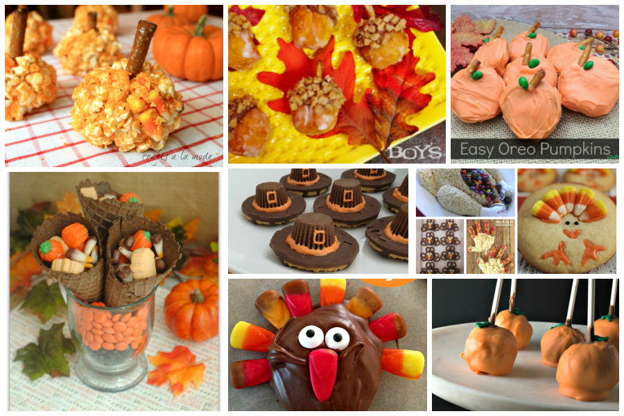 Fun Last Minute Thanksgiving Treats - Delicious Dishes Linky Party #46