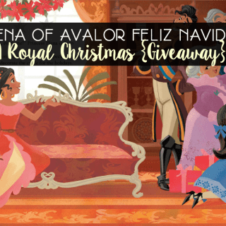 Elena of Avalor Feliz Navidad: A Royal Christmas {Giveaway} #ElenaofAvalor
