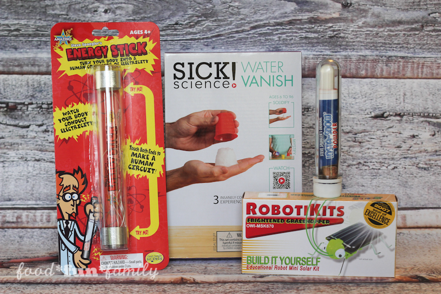 Give the Gift of STEM This Holiday - stocking stuffer ideas for kids who love science, technology, engineering and math!