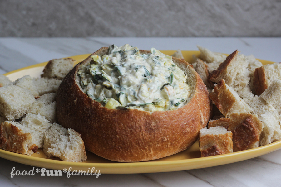 Instant Pot Spinach Artichoke Dip with Peapod
