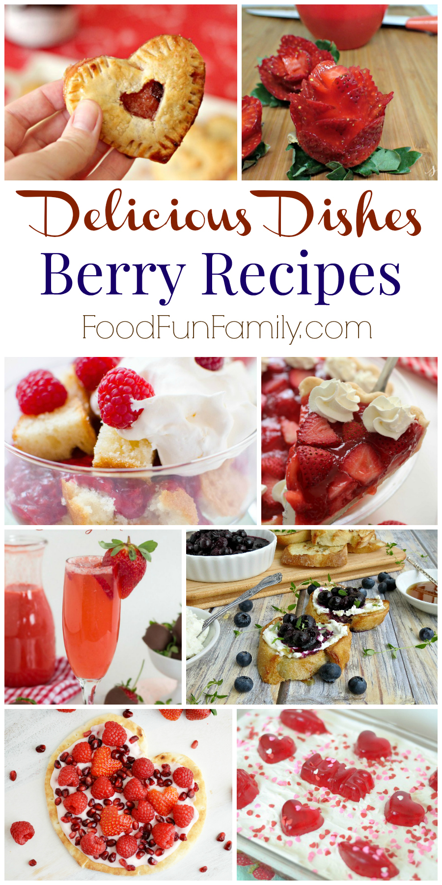Delicious Dishes Recipe Party with Featured Berry Recipes from Food Fun Family