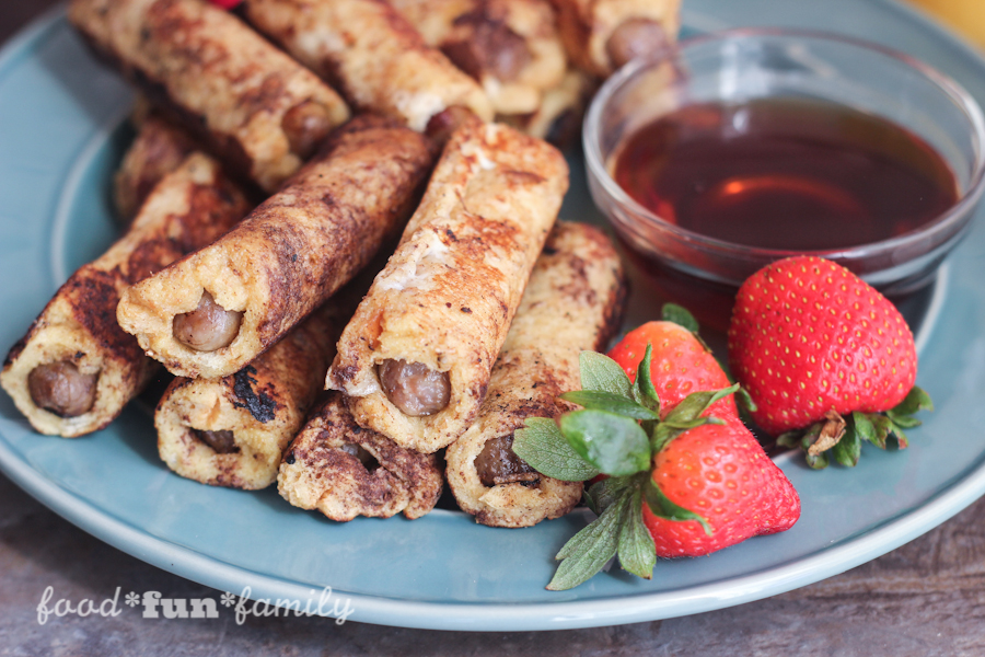 French Toast Wrapped Sausage Dippers