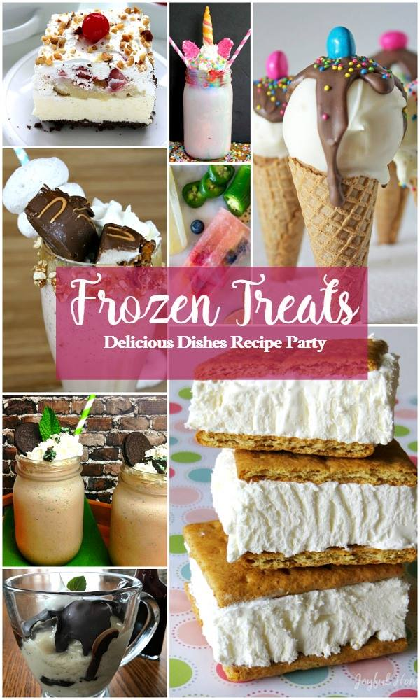 Frozen treats that are perfect for summer time picnics, get-together, and every-day refreshment! These tasty frozen treats are delicious and easy!
