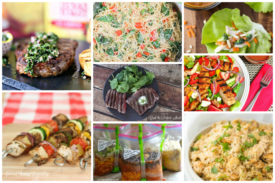 Easy dinner recipes; dishes you'll want to make over and over again because they're delicious AND quick! A Delicious Dishes Recipe Party collection of tasty main dish recipes!